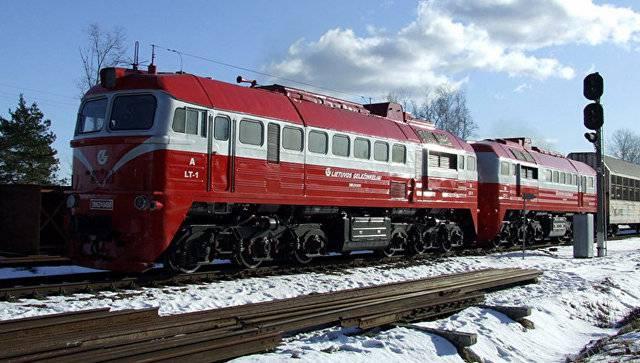 В Литве разразился скандал из-за приобретенного в России железнодорожного контейнерного крана