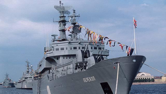 «Перекоп» покинул болгарский порт и направился в Новороссийскую базу