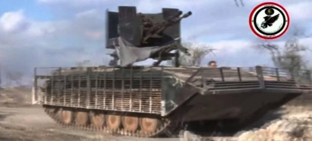 Штурмовых БМП в Сирии становится всё больше