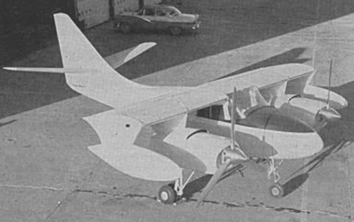 Экспериментальный самолет Robertson VTOL (США)