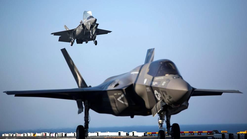 Трамп объявил окрайне высокой стоимости создания истребителей F-35