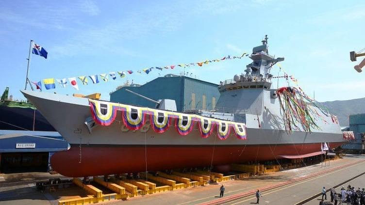 ВМС Южной Кореи заказали ещё два фрегата  FFX-2