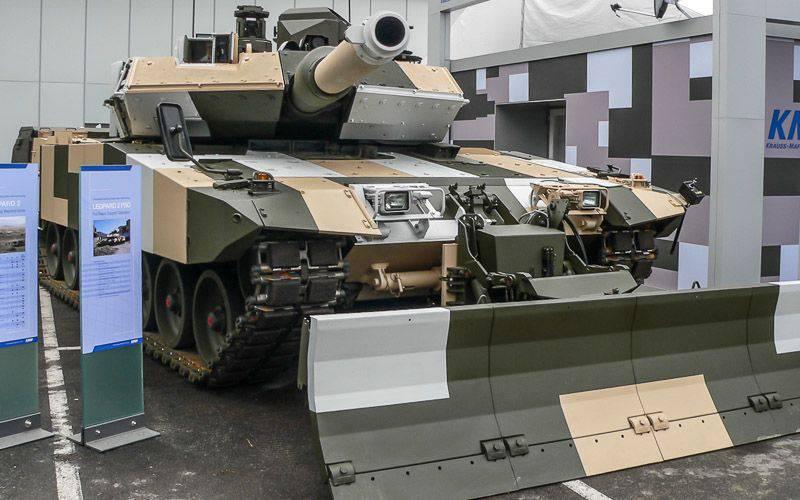 Немецкий основной боевой танк Leopard 2: этапы развития. Часть 9