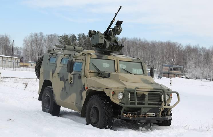 В войска поставлена очередная партия бронеавтомобилей «Тигр» с модулем «Арбалет-ДМ»