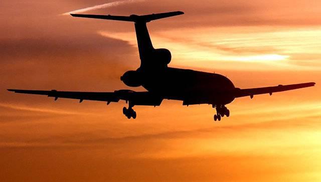 Ту-154 МО РФ должен был дозаправляться в Моздоке