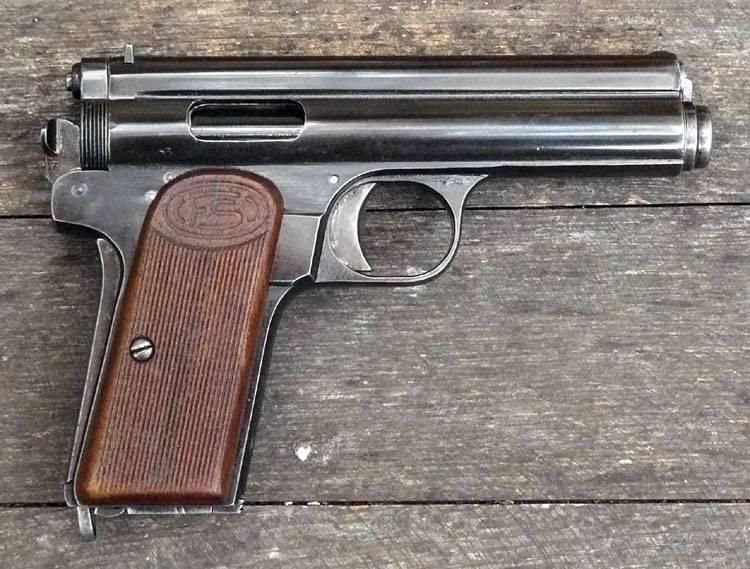 Pistolas do armeiro húngaro Rudolf von Frommer (parte 2)