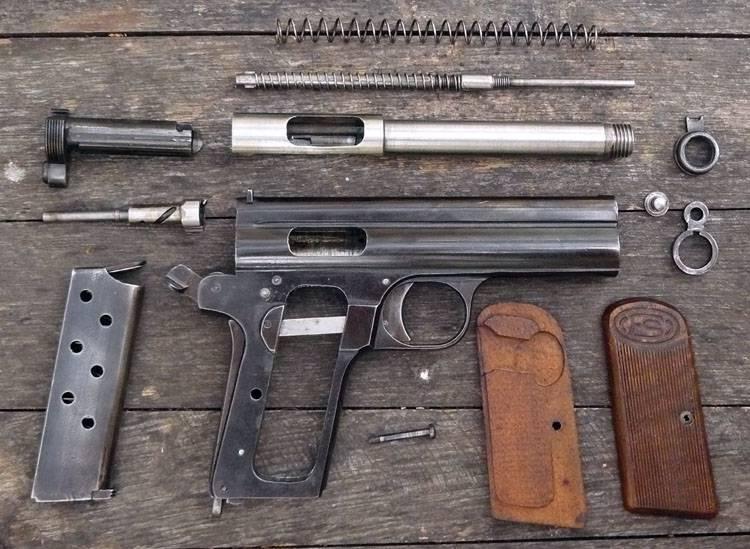 Пистолеты венгерского оружейника Рудольфа фон Фроммера (часть 2)