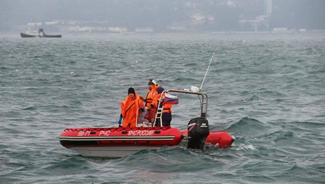 В Черном море найден фюзеляж разбившегося Ту-154