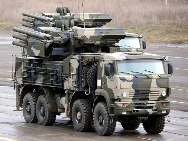 Комплексы «Панцирь-С1» заступят на боевое дежурство в Новосибирске