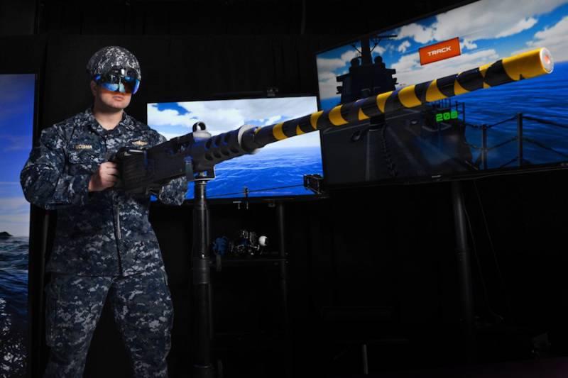 В США разработан шлем дополненной реальности для наводчиков корабельных орудий