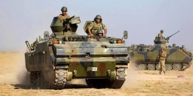 Турецкие БМП ACV-15 в Сирии не способны защитить экипажи от огня террористов