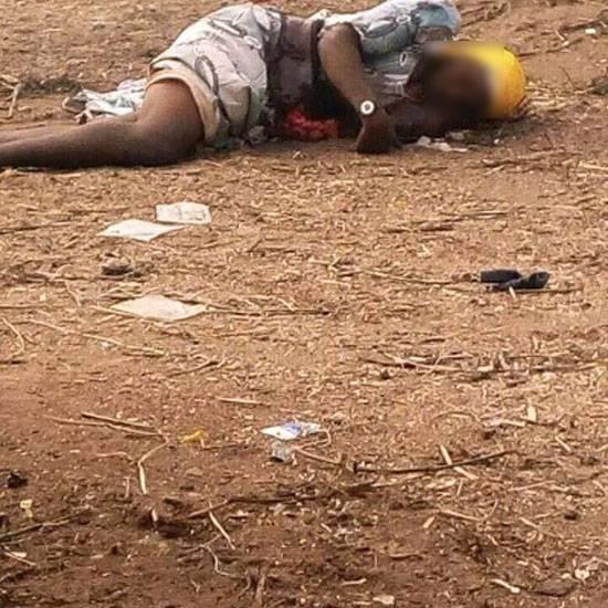 В Нигерии террористку линчевала толпа