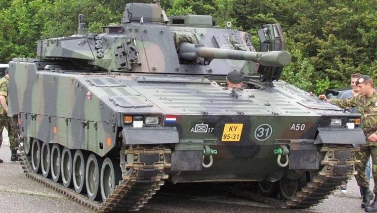 BAE Systems протестирует израильский «Железный кулак» на голландской технике