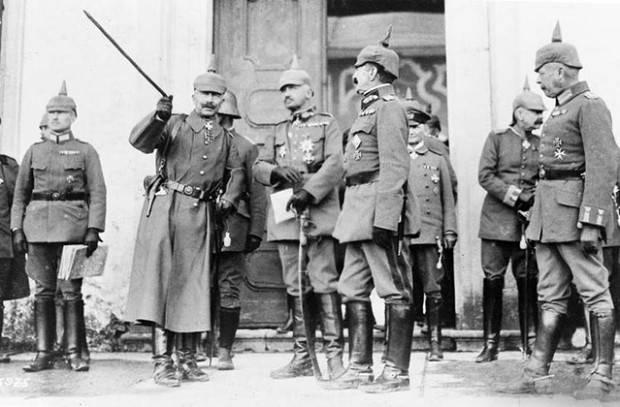 Стратегический перелом в ходе Великой войны