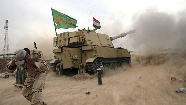 Правительственные силы Ирака начали новое наступление в Мосуле