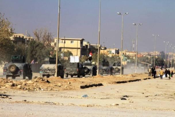 Западная коалиция разбомбила автомобиль на парковке больницы в Мосуле