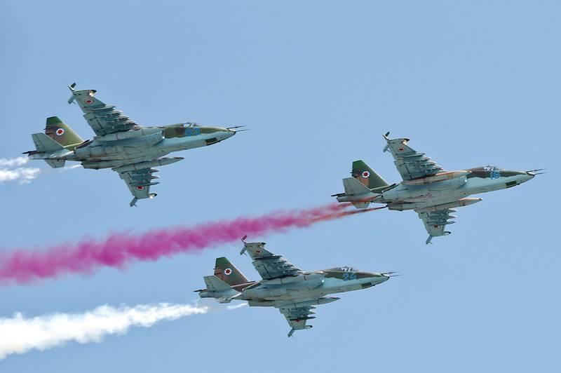 В Минобороны Грузии обсуждается вопрос о снятии с вооружения Су-25