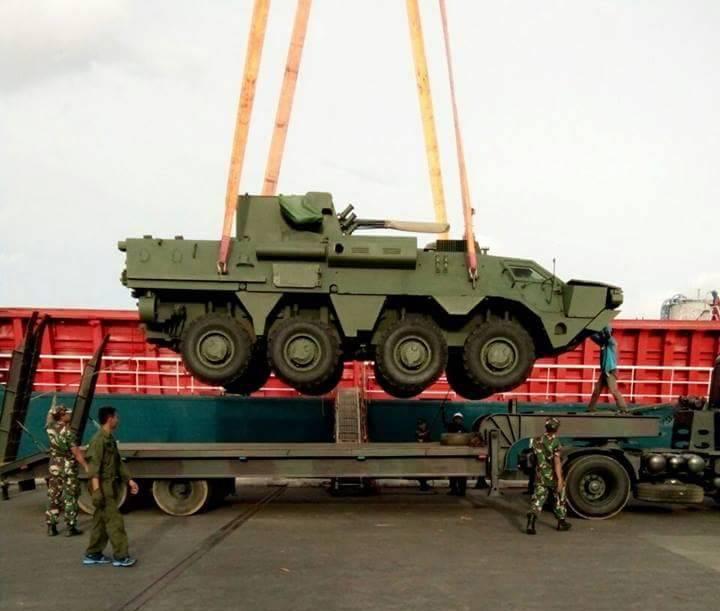 Индонезийские военные выявили недостатки в конструкции украинских БТР-4М