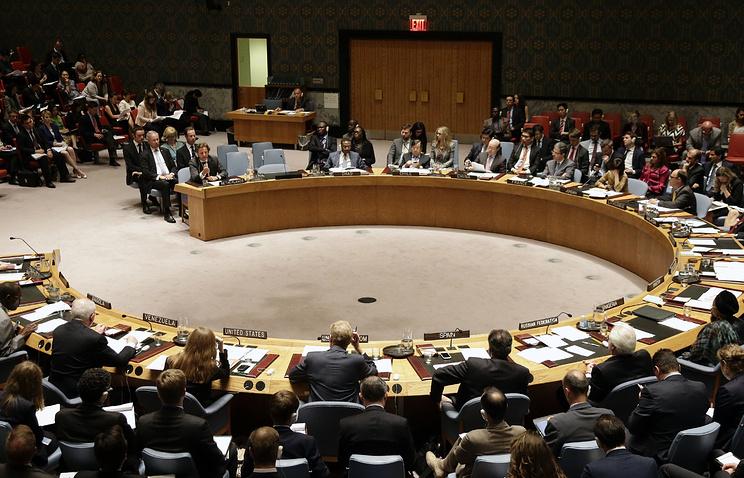 СБ ООН принял подготовленную РФ резолюцию по Сирии