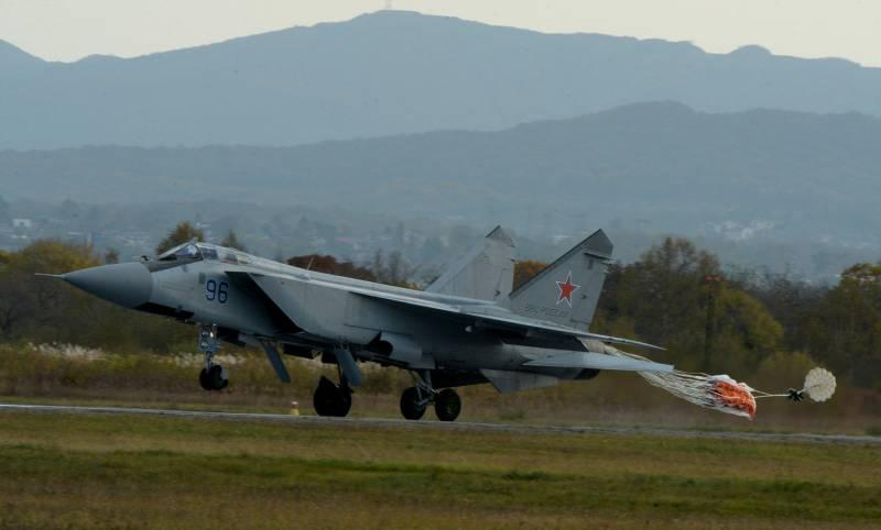 МиГ-31 совершил вынужденную посадку под Пермью