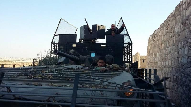 Модернизированные БМП в Сирии