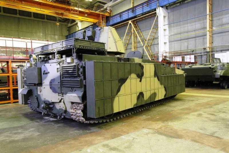 Ремонтно-эвакуационная машина на базе платформы «Курганец»