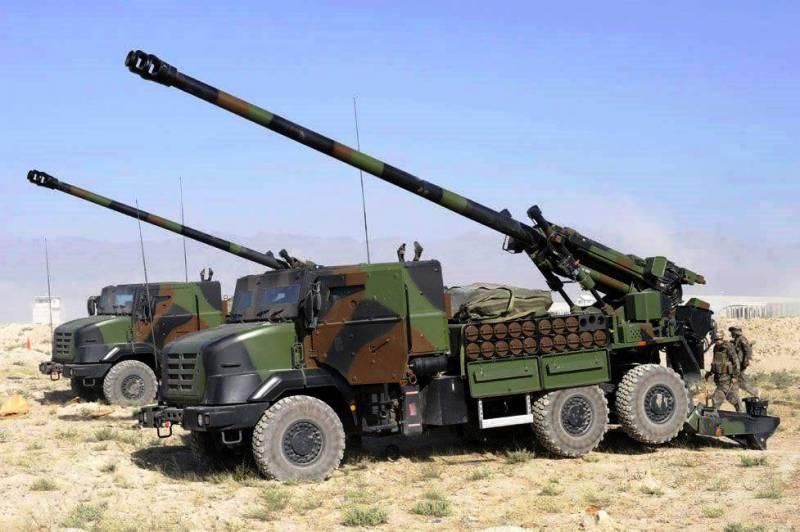 СМИ: французские самоходные гаубицы показывают хорошие результаты в Ираке