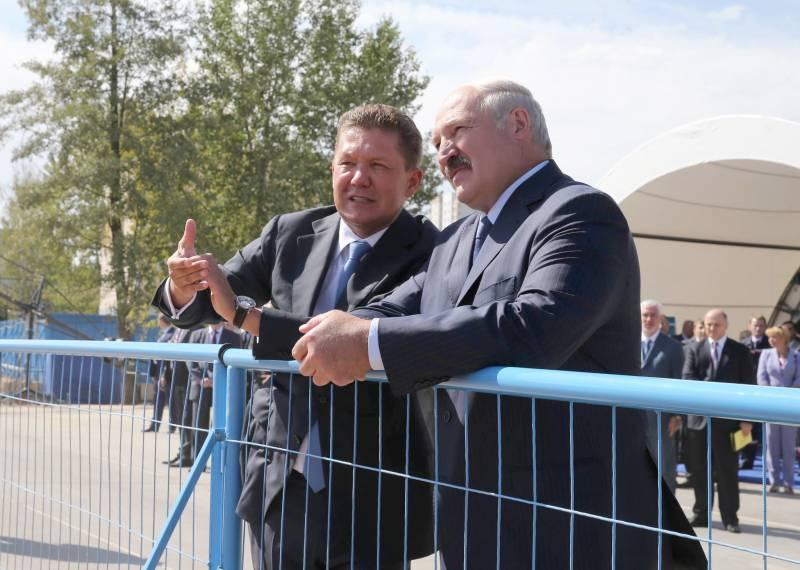 Дружба с Минском по газу