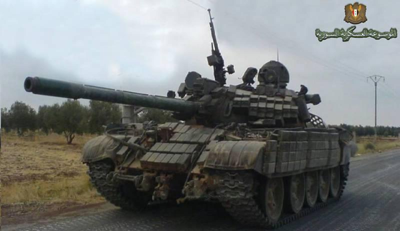 СМИ: в Сирии приступили к модернизации Т-55
