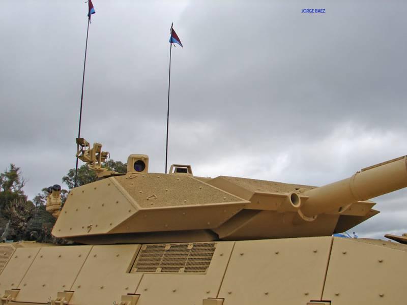 Проект модернизации среднего танка TAM 2IP (Аргентина / Израиль)