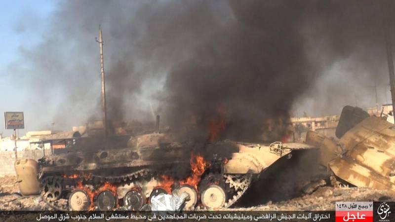 Крупная неудача иракского спецназа в Мосуле