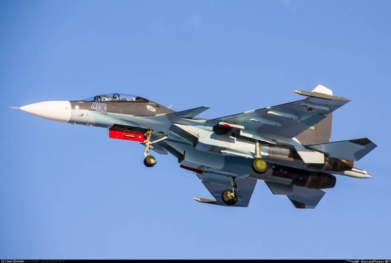 Иркутский завод передал ВМФ четыре истребителя Су-30СМ