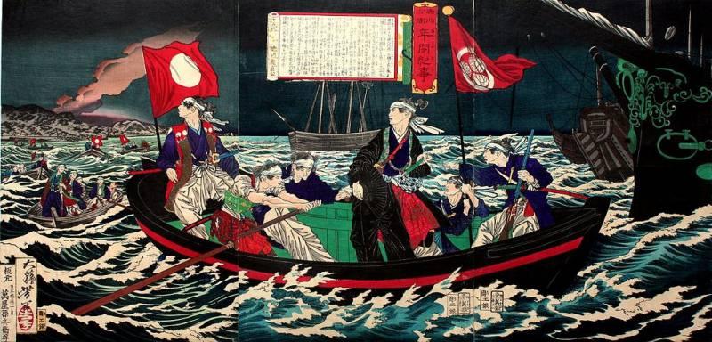«Котетсу» – корабль необычной судьбы (драматическая история в шести действиях с прологом и эпилогом). Часть третья.