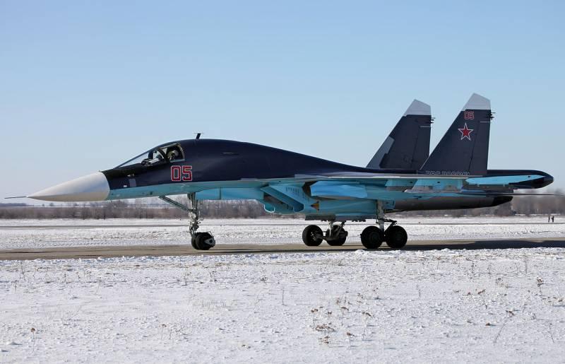 Новости о возможной модернизации самолетов Су-34