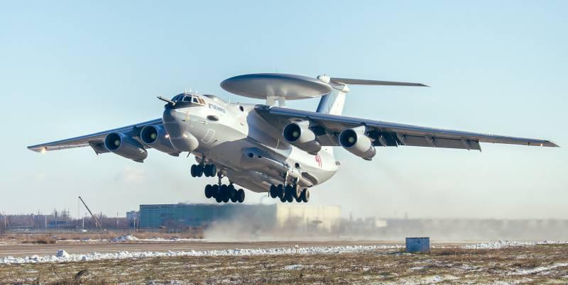 ОАК: в небо поднялся очередной модернизированный А-50У
