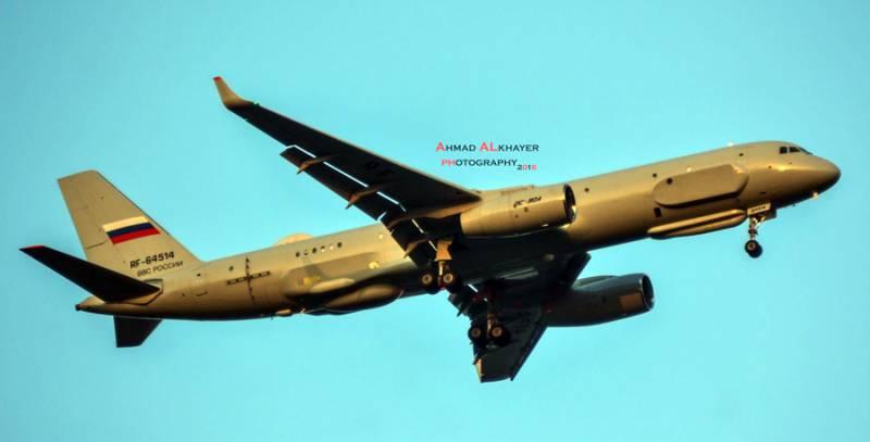 Из Сирии вернулся самолет-разведчик Ту-214Р