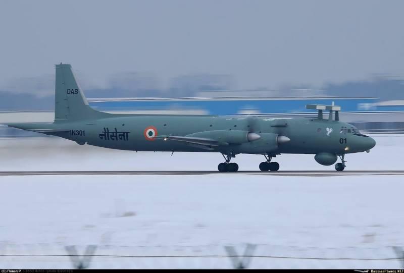 В РФ завершён ремонт второго индийского самолёта Ил-38SD