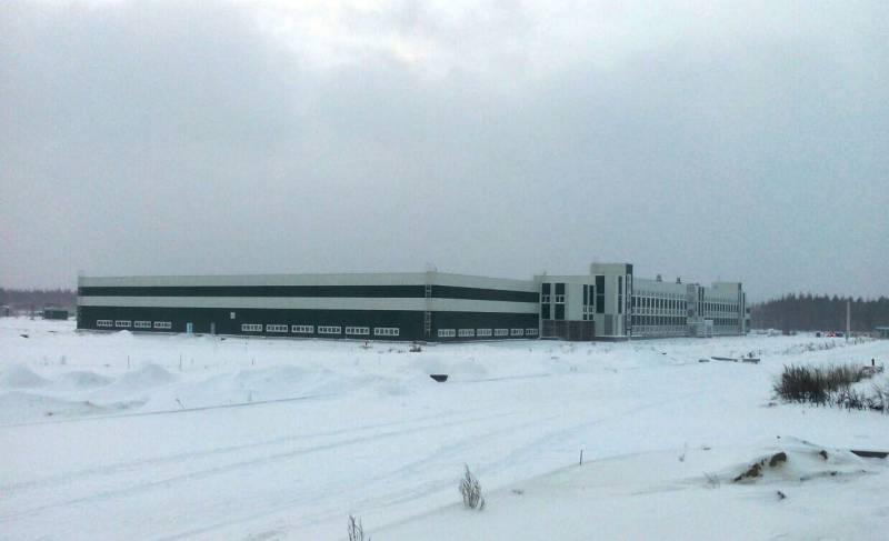 В Нижегородской области завершается строительство комплекса зданий Центра боевой подготовки