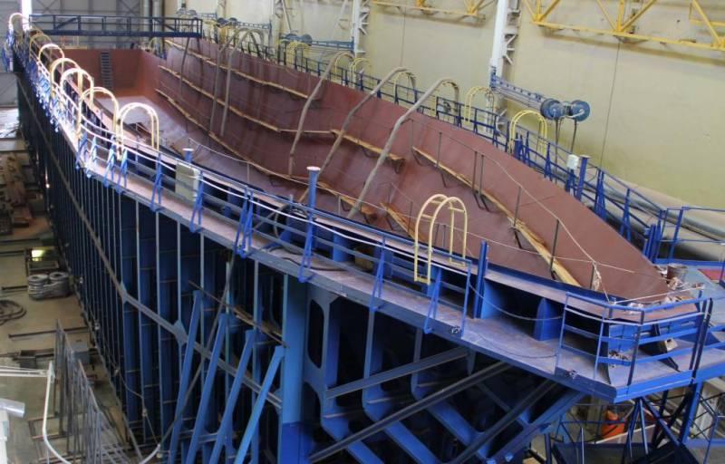 «Александр Обухов»: первый корабль большой серии