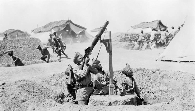 Колониальные войска стран Антанты в Первой мировой войне