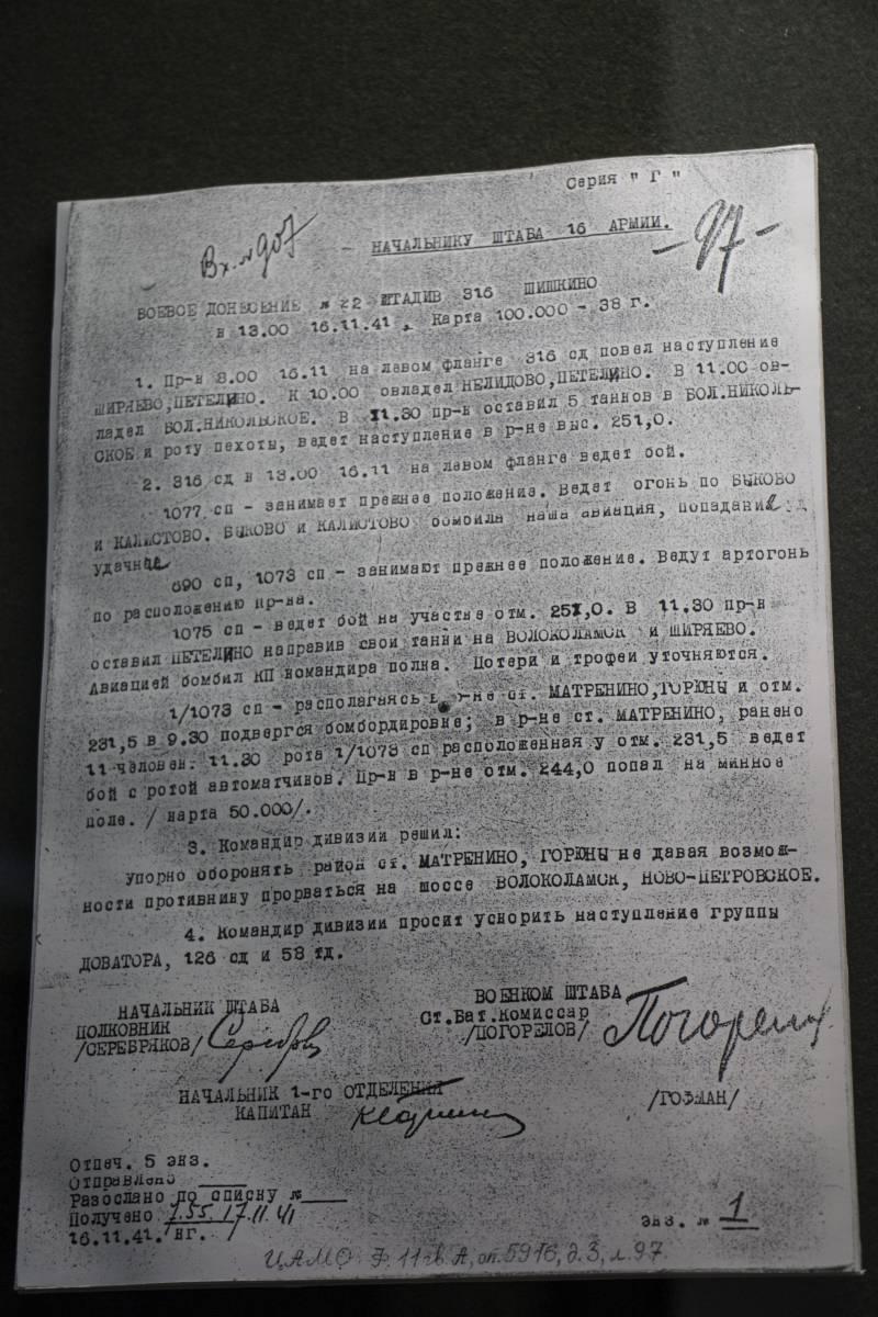 День Героя Отечества. Дубосеково