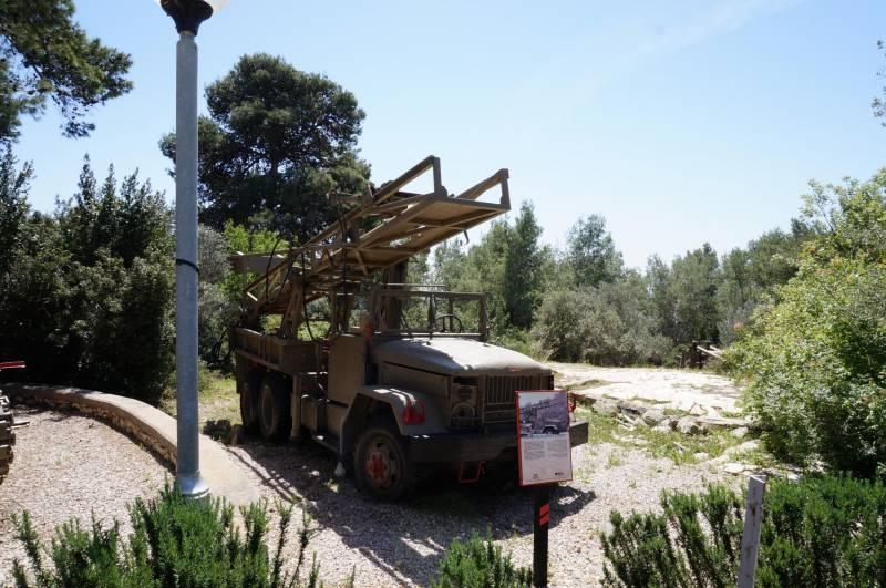 Музей артиллерии Израиля в Зихрон-Якове