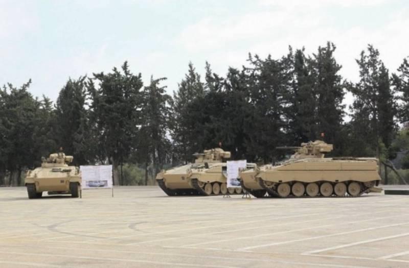 Бундесвер передал Иордании первую партию БМП Marder