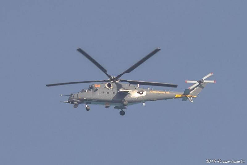 СМИ: Минобороны Казахстана получило все 4 заказанных в России Ми-35М