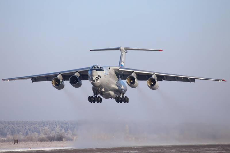 «Ильюшин» приступил ко второму этапу испытаний самолёта Ил-76МД-90А