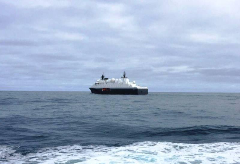 СМИ: новейший норвежский корабль «Марьята» приступил к отслеживанию действий ВМС РФ
