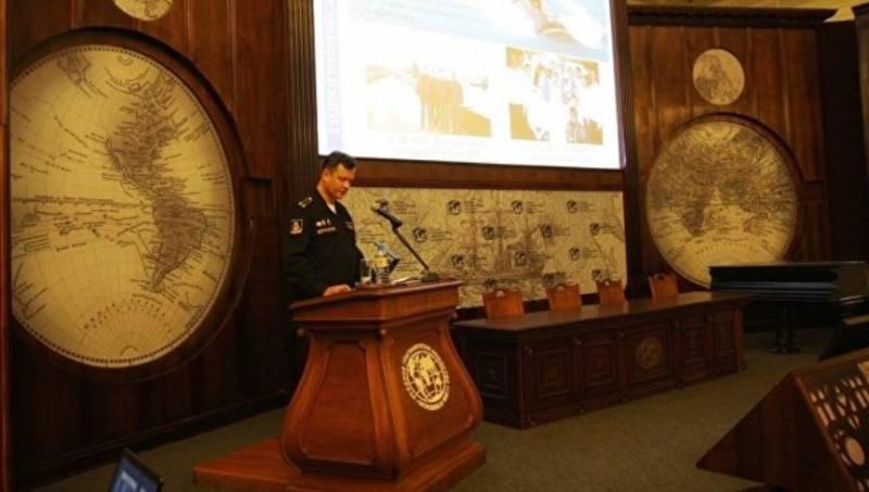 В Петербурге завершились сборы гидрографов ВМФ РФ