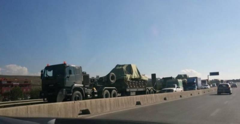 Алжиру поставлена очередная партия Т-90СА