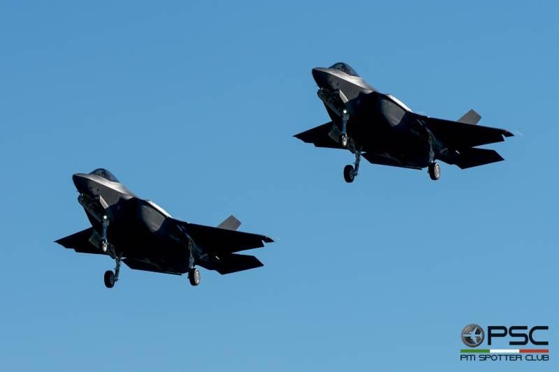 СМИ: первыми F-35A получили итальянцы, а не израильтяне