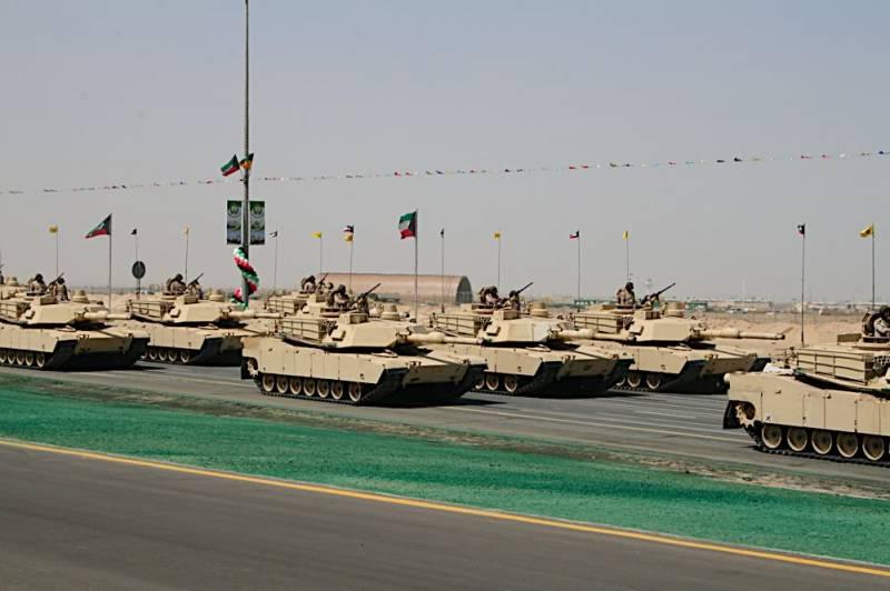 США начнут модернизацию кувейтских M1A2 Abrams
